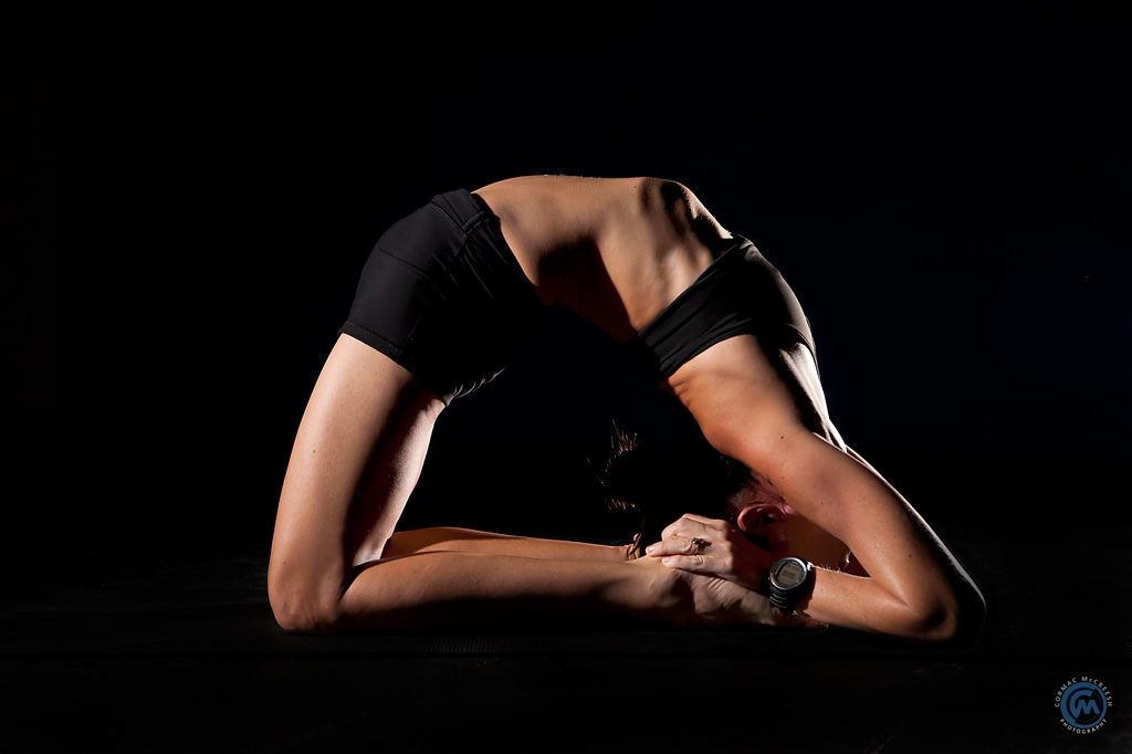 Full camel pose – poorna Ustrasana, image by Cormac McCreesh Photography