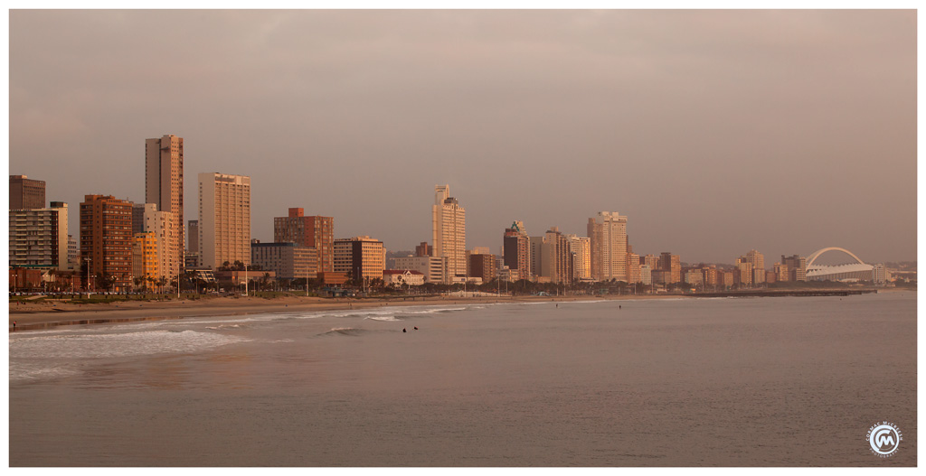Early morning Durban beachfront by Cormac McCreesh Photography