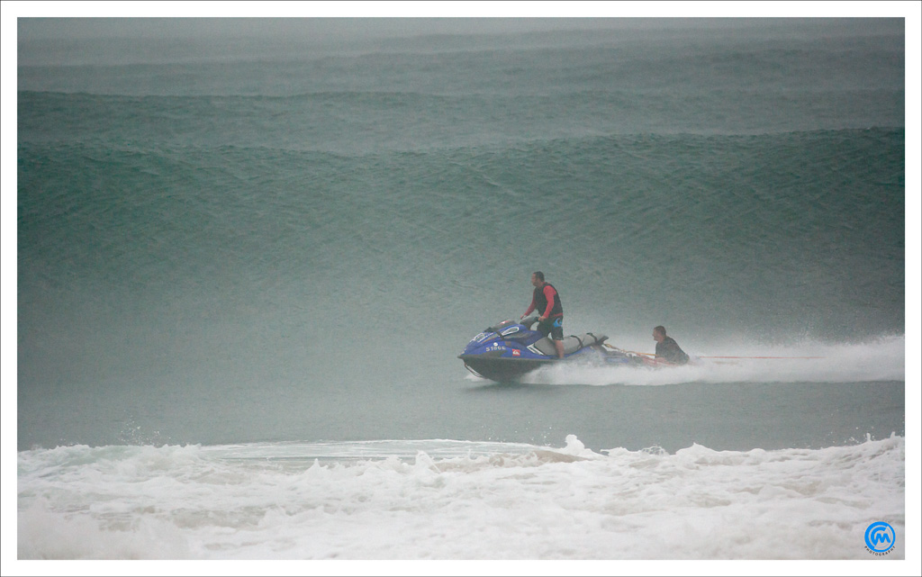 Surfing cyclone Irina